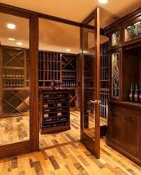 reclaimed wine barrel flooring home wine cellar in boston barrel wine cellar designs