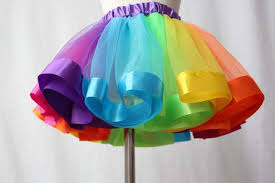 Online Shop <b>Rainbow Skirts Girl</b> Clothing Summer Color Girls ...