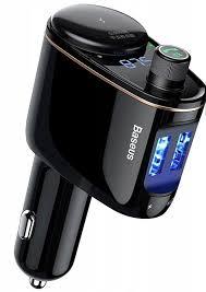 <b>FM</b>-<b>трансмиттер BASEUS Locomotive</b> Bluetooth MP3 (2USB, 2.4A ...