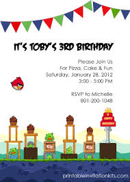 angry birds birthday party invitation ← printable invitation kits printable angry birds invitation template angry birds birthday invitation