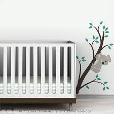 <b>Baby wall decal</b> koala bear baby nursery decor wall sticker brown ...