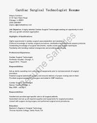 surgical tech resume examples org surgery tech sample resume