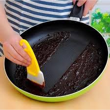 Pot Scraper Pan Cleaning Scraper Silicone Kitchen Spatula Cake ...