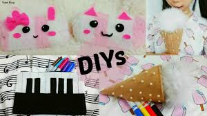 3 <b>Creative</b> School DIYs: DIY Ice Cream&Piano <b>Pencil Cases</b> + DIY ...