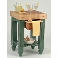 ampamp prep table: tables amp chairs american heritage kitchen prep table butcher block top basil