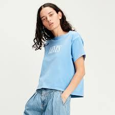 <b>Levi's</b>® Australia <b>Graphic Varsity Tee</b> Serif Garment Dye Marina