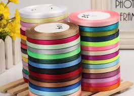 <b>25 Yards</b><b>lot</b> 6 mm 40 mm Silk Satin Ribbon Polyester Fabric ...