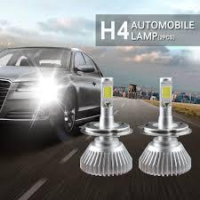 <b>2PCS H1 H4</b> H7 H11 COB LED Car Headlight Bulb 40W 8000LM ...