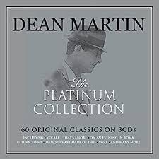 The <b>Platinum</b> Collection [3CD Box Set] by <b>Dean Martin</b>: Amazon.co ...