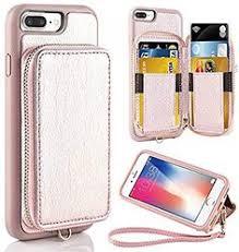 SUPZY Leather Detachable Magnetic <b>Flip</b> 9 <b>Card Slots</b> Holder Wrist ...