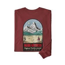 <b>Футболка Patagonia Long-Sleeve See&Believe</b> Responsibili-Tee ...