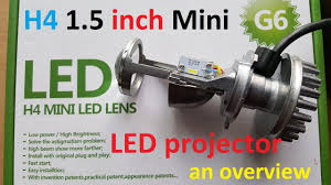 <b>H4 Mini</b> LED projector 1.5 Inch an overview - YouTube