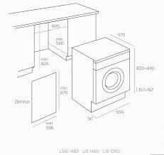 Встраиваемая <b>стиральная машина с сушкой</b> TEKA LSI5 1480
