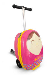 "<b>Zinc</b> Flyte - <b>Zinc</b> Flyte Kids Luggage Scooter 18"" Carry-on - <b>Betty</b> ..."