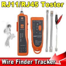 New RJ11 RJ45 Cat5 Cat6 Telephone <b>Wire</b> Tracker Tracer ...