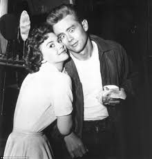 natalie wood and james dean on the sets of rebel out a cause natalie wood and james dean on the sets of rebel out a cause 1955