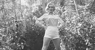 Rare photos of Marilyn Monroe hiking in the woods, before she was ...