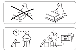 16 out of context ikea instructions to help you live a better life mental floss assembling ikea chair