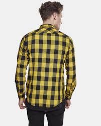 <b>Urban Classics Checked Рубашка</b> - Regular fit - Темно-серый