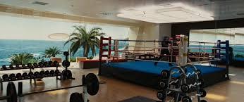 gym bedroom upstairs tony stark