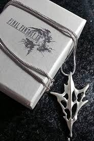 Final Fantasy XIII Lightning Necklace   FF13 Cosplay ... - Amazon.com