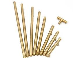 Brushed <b>brass knobs</b>   Etsy