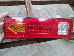 <b>MZORANGE</b> 1 Piece 19 Led Caravan Truck Tail Light 30*9 CM <b>12V</b> ...