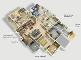 images about Projects to Try on Pinterest   House plans    houseplans com  modern four bedroom