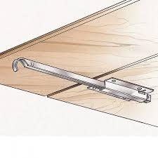 dining table leaf hardware: metal drop leaf support    metal drop leaf support