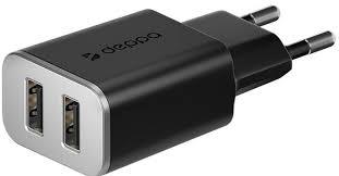 <b>СЗУ</b> Deppa, <b>универсальное 2</b> USB 2.4 black, <b>сзу</b>, 0303-0484 ...