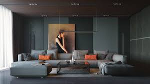 orange theme contemporary home office bounce home living room category fascinating retro house designs seductive and artistic home office track