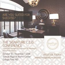 the signature ceo conference 2016 business intelligence for description