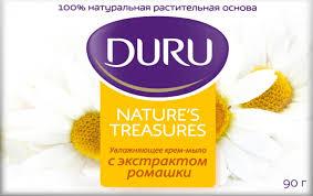 Natural Treas Мыло Ромашка 90 г <b>Duru</b> — купить в Москве в ...