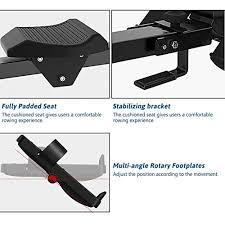 <b>Merax Magnetic</b> Exercise <b>Rower</b> Adjustable- Buy Online in Gibraltar ...