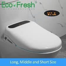 <b>Ecofresh U O V</b> shape Intelligent Toilet Seat Electric Bidet Cover ...