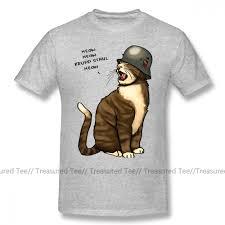 Wehrmacht T Shirt German Big Cat <b>T Shirt Funny Short</b> Sleeve Tee ...