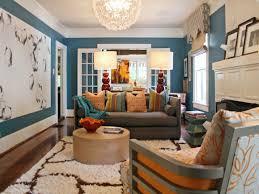 blue blue dark trendy living room