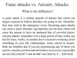 images about Anxiety on Pinterest Panic attacks vs anxiety attacks
