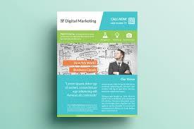 creative marketing flyer v5 flyer templates on creative market