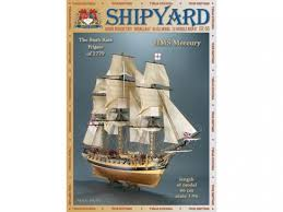 <b>Сборная картонная модель</b> Shipyard фрегат HMS Mercury (№66 ...