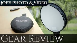 Neewer 16 Inch Portable <b>Round</b> Photography Soft Box | Gear Review