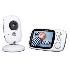 <b>Baby</b> Monitor, 3.2 Inch LCD <b>Wireless Digital Audio</b> Video <b>Baby</b> ...