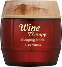Holika Holika <b>Ночная винная маска-желе</b> Красное вино Wine ...