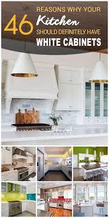 Cabinets Design For Kitchen 46 Best White Kitchen Cabinet Ideas For 2017