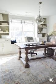 work desks home office. one room challenge home office makeover reveal work desks