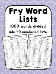 Image result for fry word app