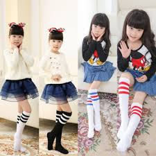 Emmababy <b>Autumn Winter Warm Kids</b> Knee High Socks For Girls ...