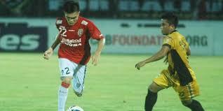 Hasil gambar untuk Foto Bali United Vs Mitra Kukar