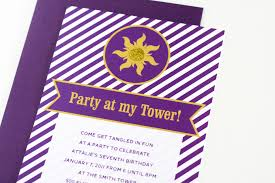 easy tangled party invites paging supermom tangledsunbirthdaypartyinvitations