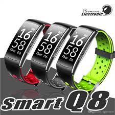 <b>Q8</b> Fitness Tracker <b>Smart</b> Watch Blood Pressure Heart Rate Sleep ...